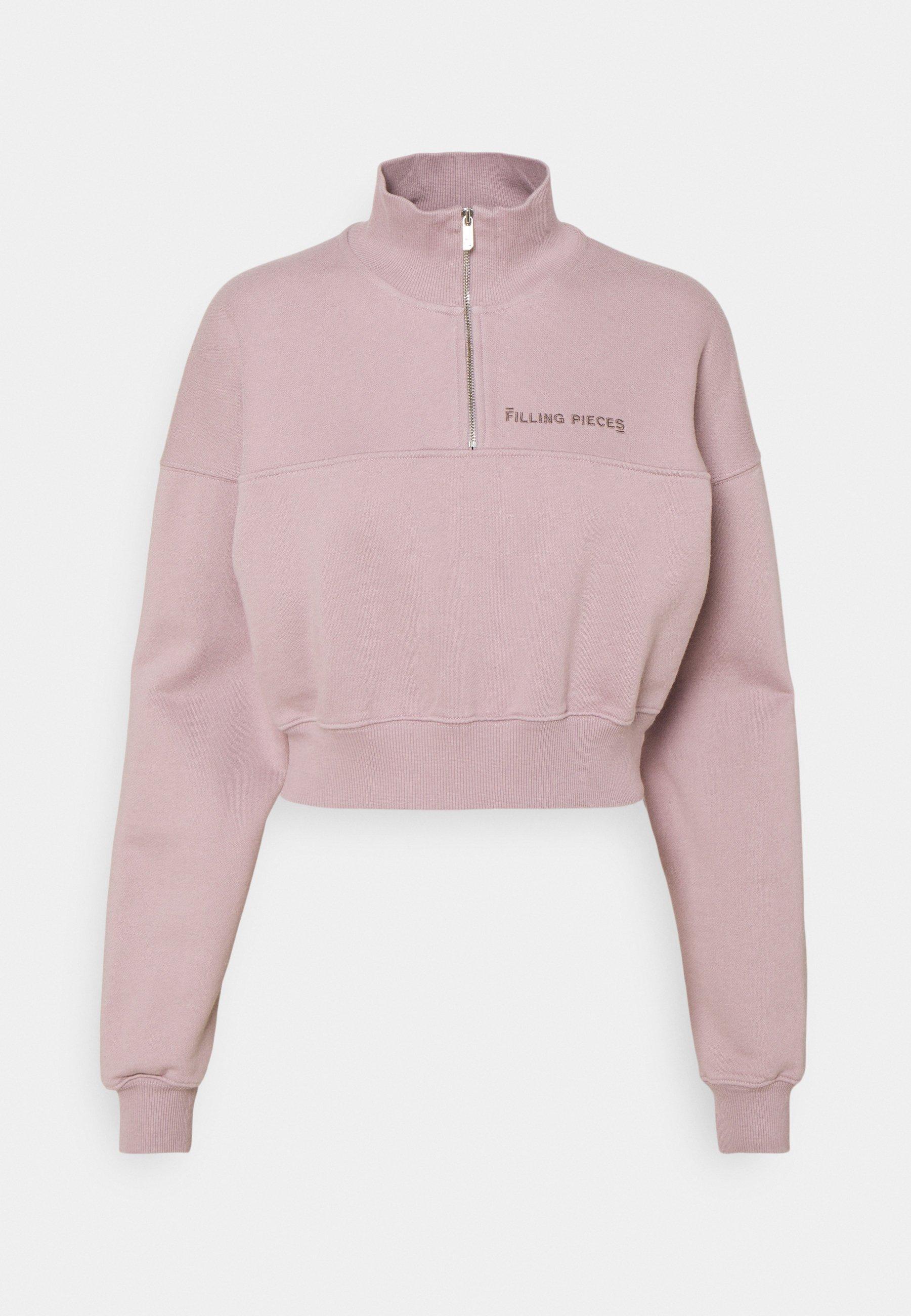 Women FEMALE CROPPED ZIP MOCK - Sweatshirt