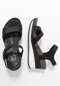 Panama Jack - NICA SPORT - Platform sandals - schwarz - 3