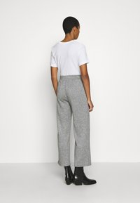 Zign - LOUNGE STRAIGHT PANT  - Bukser - mottled grey - 2