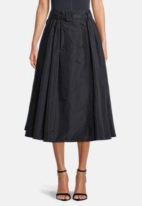 Vera Mont - A-line skirt - dark navy - 0