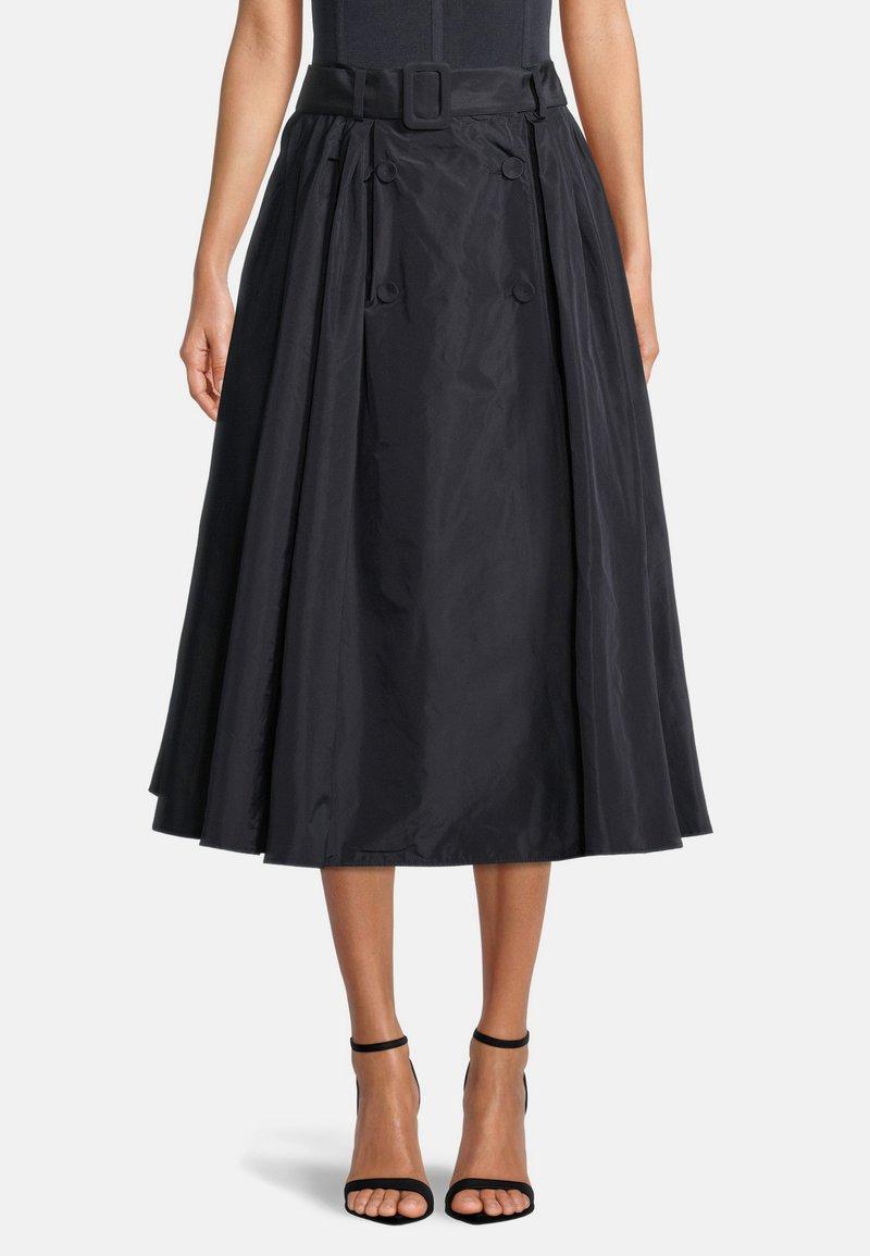 Vera Mont - A-line skirt - dark navy