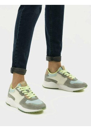 Trainers - multi green