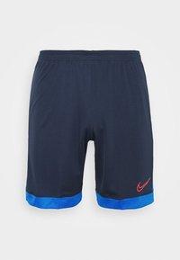 Nike Performance - DRY ACADEMY SHORT  - Sportovní kraťasy - obsidian/soar/laser crimson - 4