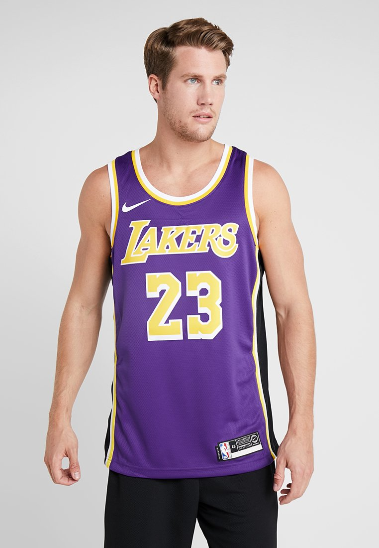 Nike Performance - NBA LA LAKERS LEBRON JAMES SWINGMAN - Klubbkläder - purple