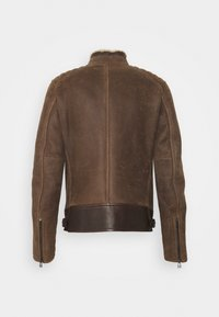 Belstaff - WESTLAKE JACKET - Leather jacket - chocolate brown - 1