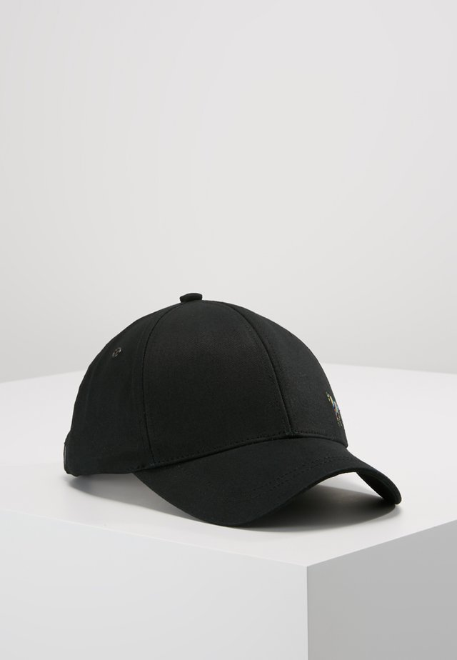 MEN CAP ZEBRA - Kšiltovka - black