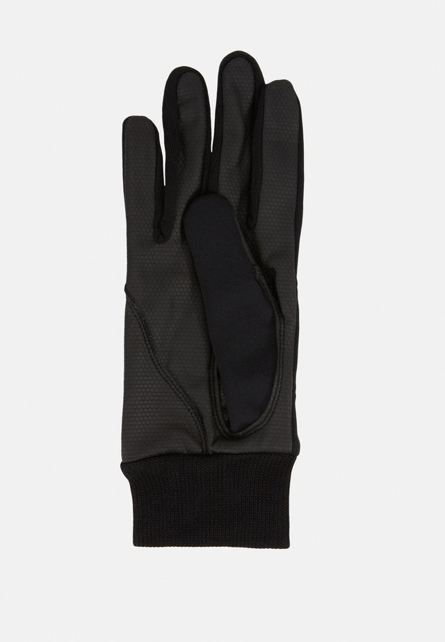 ELLA GLOVE WITH LOGO - Gloves - black