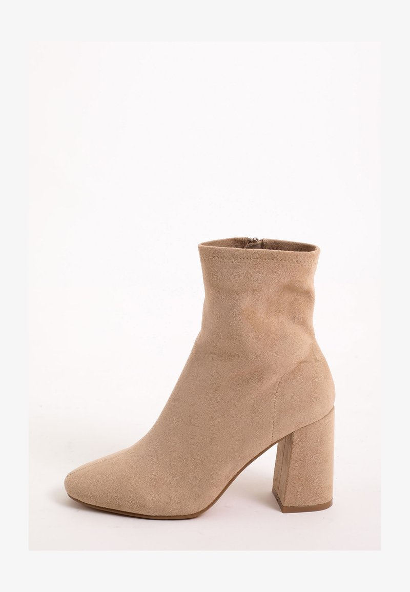 Pimkie - High heeled ankle boots - beige