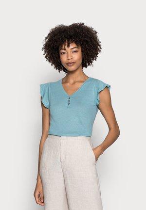 ISABEL - Basic T-shirt - turquoise