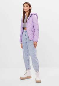 Bershka - Winter jacket - mauve - 1