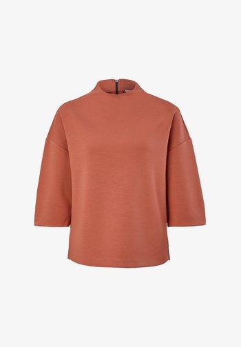 Sweatshirt - dusty apricot
