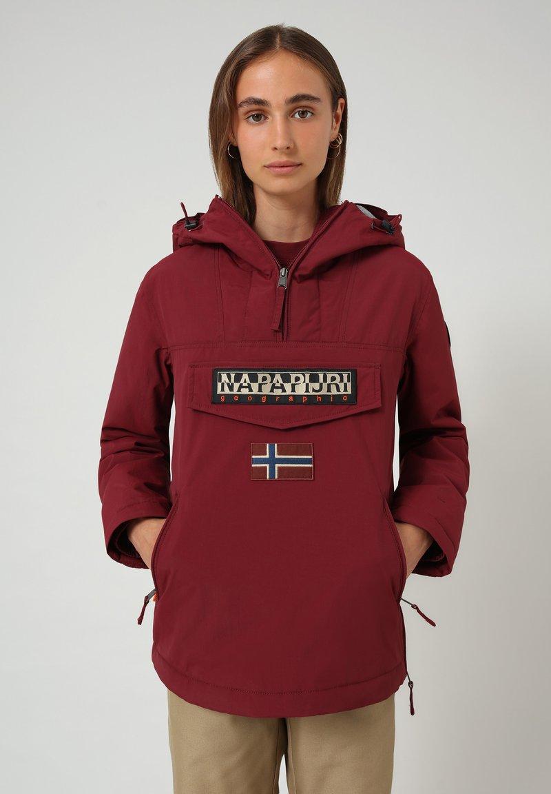 Napapijri - RAINFOREST POCKET - Light jacket - vint amaranth