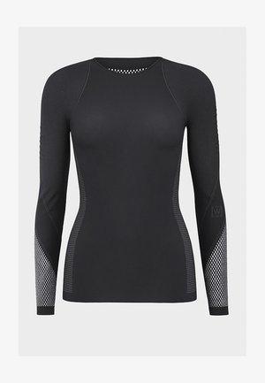 Maglietta a manica lunga - black/ash