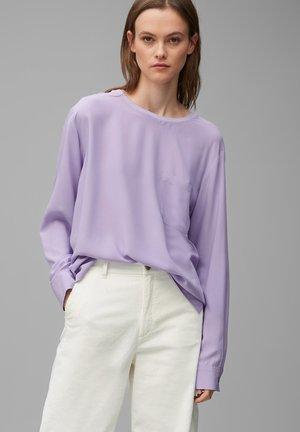 Blouse - peached purple