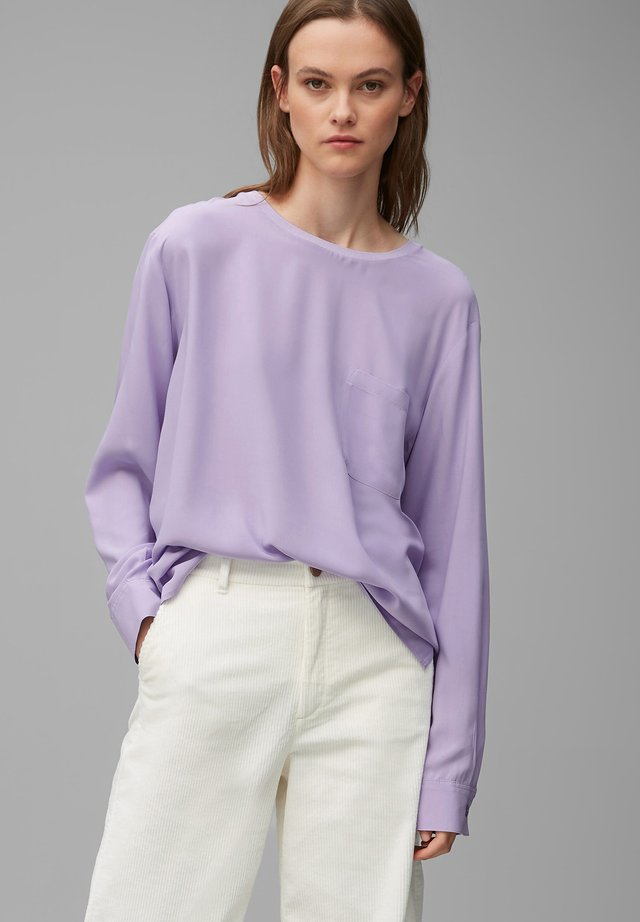 Blouse - peached purple