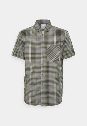 CALANCA MEN - Camisa - tin/iguana