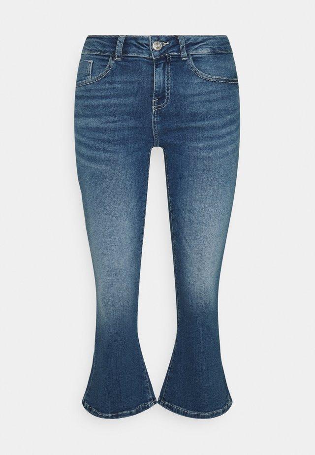 NMMARLI - Široké džíny - medium blue denim