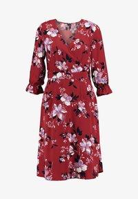 Vero Moda - VMREEDA V NECK DRESS - Day dress - cowhide - 4