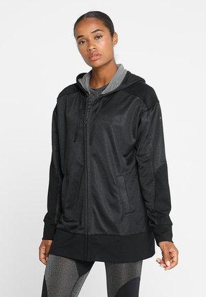 DRY HOODIE SHIMMER - Training jacket - black
