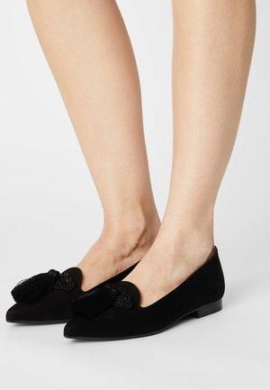 POINTY - Slip-ons - black