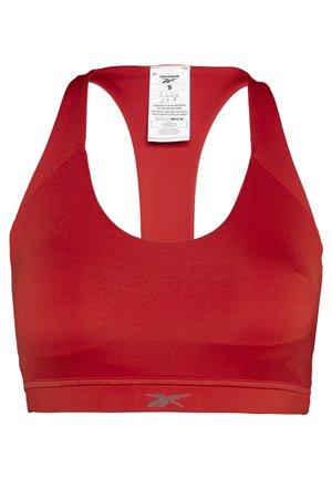 WORKOUT READY MEDIUM IMPACT BRA - Medium support sports bra - red