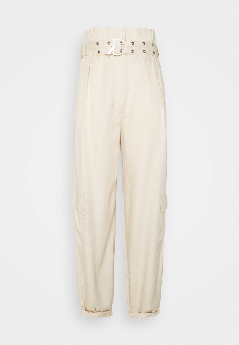 Patrizia Pepe - PANTALONI TROUSERS - Cargo trousers - doll beige