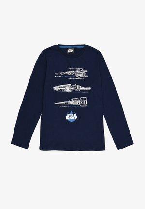 Star Wars  - Long sleeved top - dunkel-blau