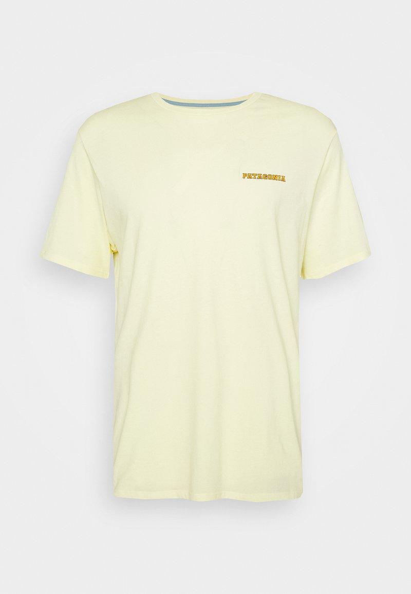 Patagonia - SUMMIT ROAD ORGANIC - T-shirt imprimé - resin yellow