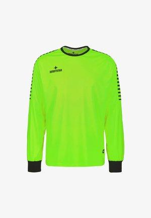 HYPER TORWART - Goalkeeper shirt - grün / schwarz