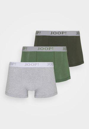3 PACK - Pants - khaki/green/grey