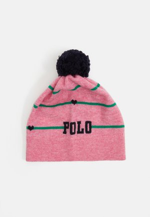 APPAREL ACCESSORIES HAT UNISEX - Čepice - preppy pink heather