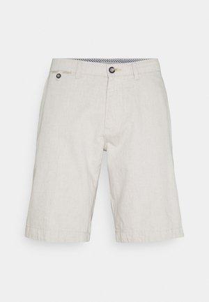 BERMUDA - Shorts - beige/grey