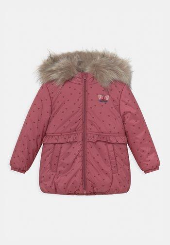 KID - Winter coat - dark rose