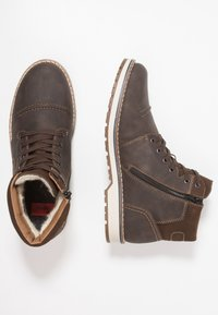 Rieker - Lace-up ankle boots - moro - 1