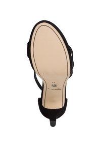 Tamaris - High heeled sandals - black - 4