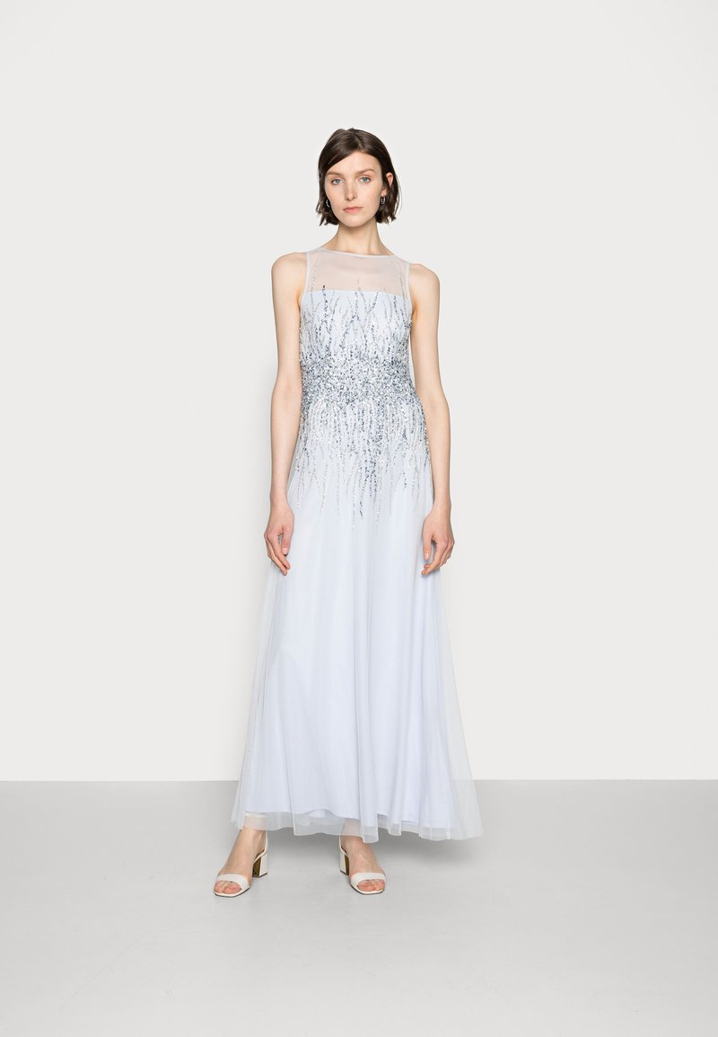 Adrianna Papell - SLEEVELESS BEADED GOWN - Occasion wear - serenity
