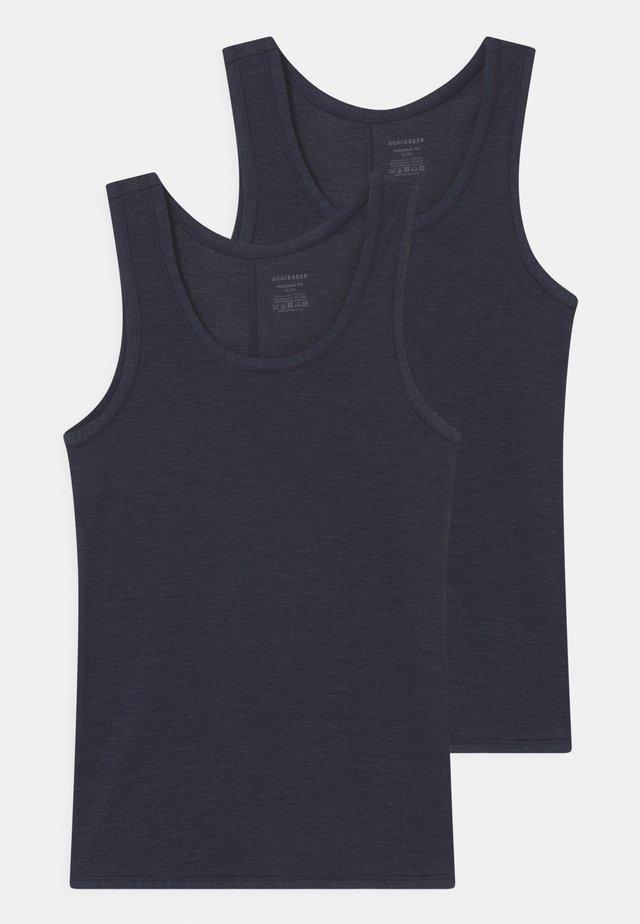 PERSONAL FIT 2 PACK - Maglietta intima - nachtblau