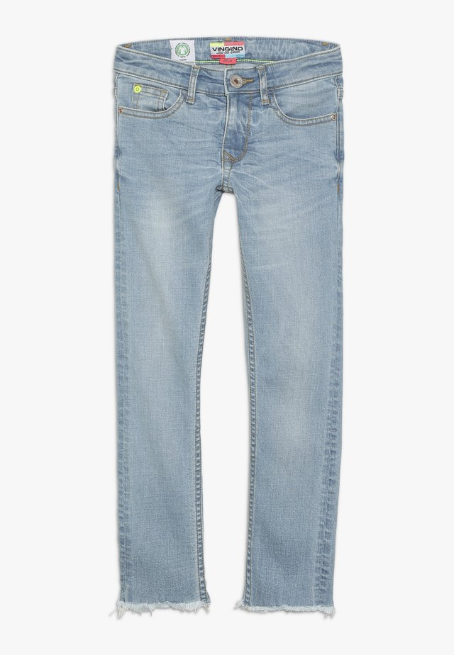 ANN - Straight leg jeans - light indigo