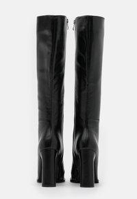 RAID - SPHERE  - Kozačky na vysokém podpatku - black - 3