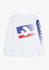 Converse - BITMAP STAR CHEVRON - Långärmad tröja - white - 0