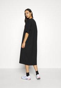 Weekday - INES DRESS - Jersey dress - black - 2