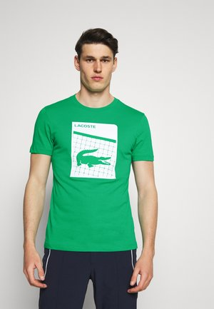 GRAPHIC - T-shirt med print - palm green