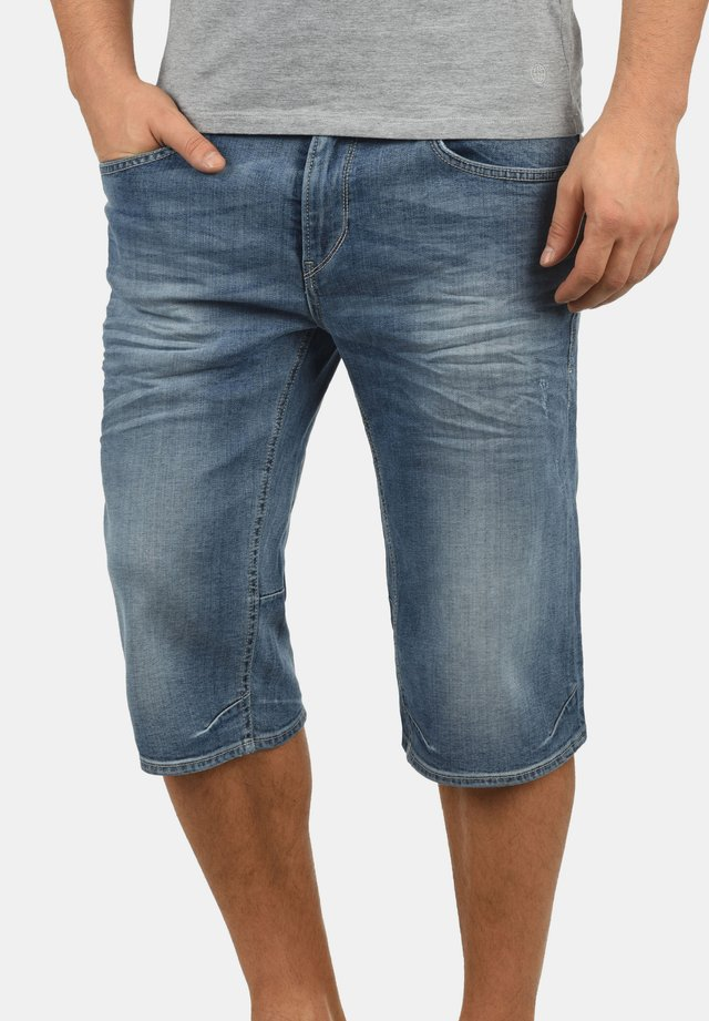 DENON - Jeans Short / cowboy shorts - denim ligh