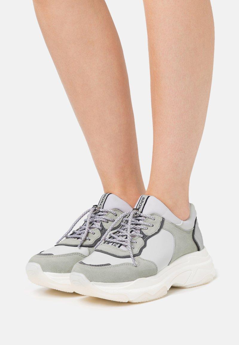 Bronx - BAISLEY - Sneaker low - white
