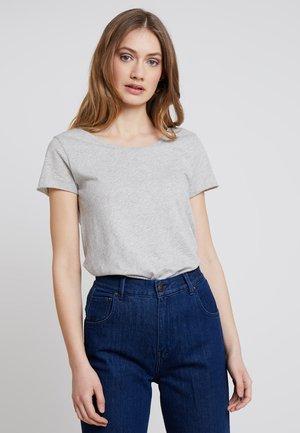 Basic T-shirt - cloudy grey