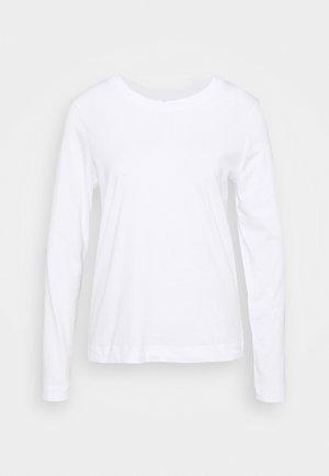 STANDARD TEE  - Topper langermet - bright white