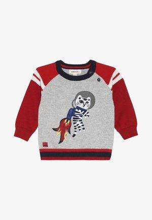 BABY  - Stickad tröja - gris clair