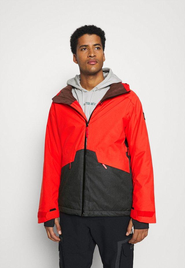 QUARTZITE  - Veste de snowboard - fiery red