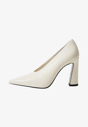 ANITA - High heels - cremeweiß