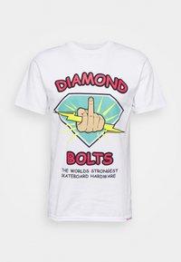 BOLTS TEE - Print T-shirt - white